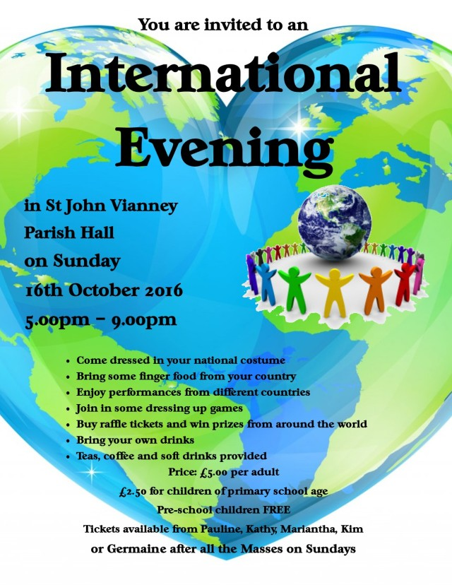 internation evening